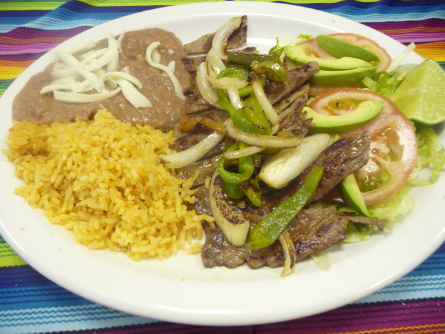 Carne Asada (grilled steak)