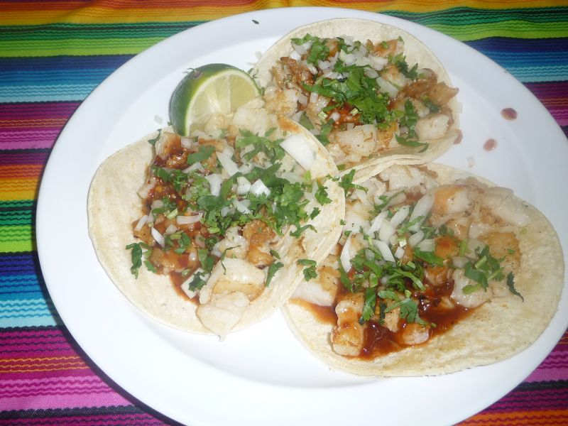 Shrimp or Fish Taco X 3