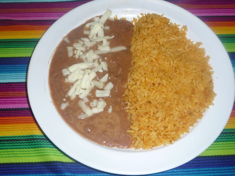 Side Rice and Beans